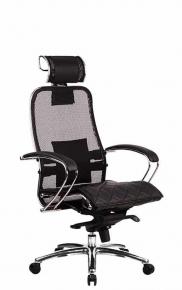 Кресло SAMURAI S-2.03 Черный с чехлом CSm-10