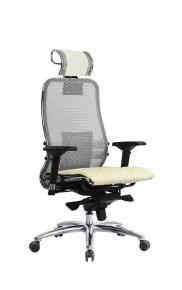 Кресло SAMURAI S-3.03 Белый Лебедь с чехлом CSm-10