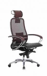 Кресло SAMURAI S-2.03 Темно-бордовый с чехлом CSm-10