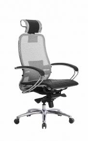 Кресло SAMURAI S-2.03 Серый с чехлом CSm-10