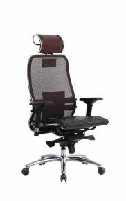 Кресло SAMURAI S-3.03 Темно-бордовый с чехлом CSm-10