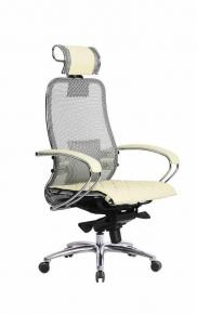 Кресло SAMURAI S-2.03 Бежевый с чехлом CSm-10