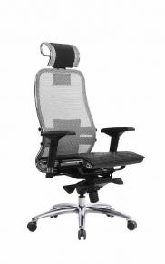 Кресло SAMURAI S-3.03 Серый с чехлом CSm-10
