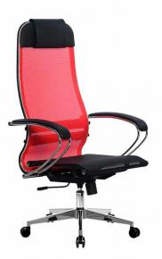 Кресло Метта SU-1-BK Комплект 4 Сh2 Красный