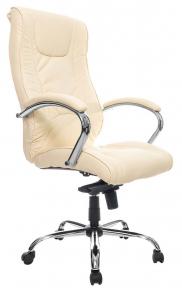 Кресло Everprof Argo M (Кожа) Бежевый