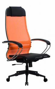 Кресло Метта SU-1-BK Комплект 4 PL2 Оранжевый