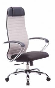 Кресло Метта SU-1-BK Комплект 23 Сh 24 Светло-серый