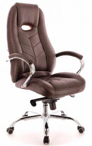 Кресло Everprof Drift M (Кожа) Коричневый