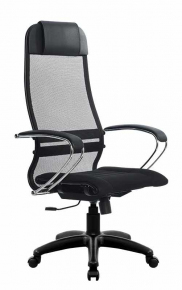 Кресло Метта SU-1-BK Комплект 1 PL Черный