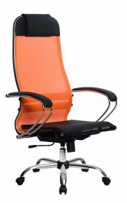 Кресло Метта SU-1-BK Комплект 4 Сh Оранжевый