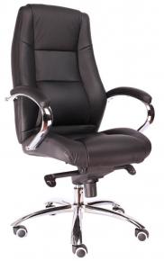 Кресло Everprof Kron M (Кожа) Черный