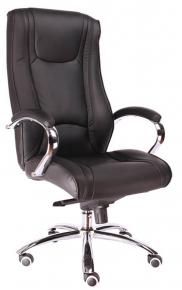 Кресло Everprof Argo M (Кожа) Черный