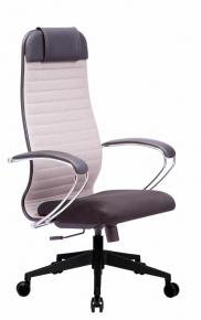 Кресло Метта SU-1-BK Комплект 23 PL2 24 Светло-серый