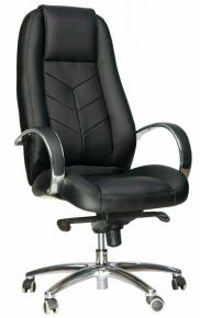 Кресло Everprof Drift Full AL M (Кожа) Черный