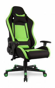 Кресло College BX-3760 Black/Green