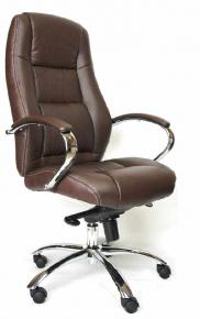 Кресло Everprof Kron M (Кожа) Коричневый