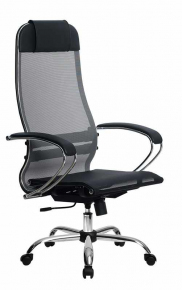 Кресло Метта SU-1-BK Комплект 4 Сh Серый