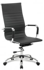 Кресло офисное BRABIX Energy EX-509 экокожа хром черное