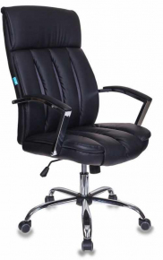Кресло Бюрократ T-8000SL, BL+GR черный