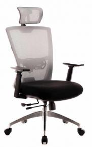 Кресло Everprof Polo S Черно-серый