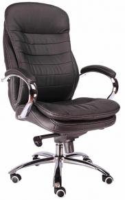 Кресло Everprof Valencia M (Кожа) Черный