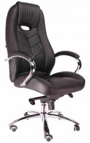 Кресло Everprof Drift M (Кожа) Черный