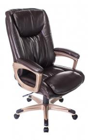 Кресло Бюрократ T-9914/BROWN коричневый