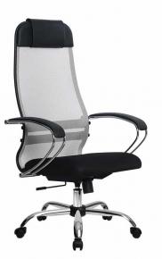 Кресло Метта SU-1-BK Комплект 18 Сh 24 Светло-серый