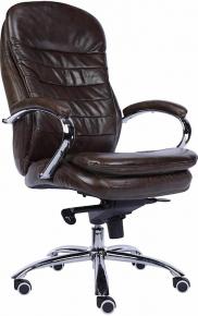 Кресло Everprof Valencia M (Кожа) Коричневый
