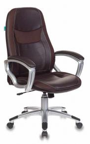 Кресло Бюрократ T-9910N/BROWN коричневый