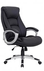 Кресло офисное BRABIX Grand EX-500 натуральная кожа черное