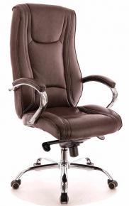 Кресло Everprof Argo M (Кожа) Коричневый