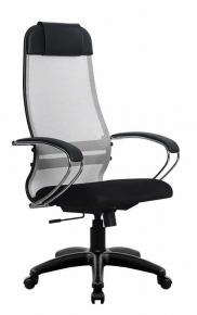 Кресло Метта SU-1-BK Комплект 18 PL 24 Светло-серый