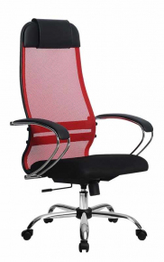 Кресло Метта SU-1-BK Комплект 18 Сh 22 Красный