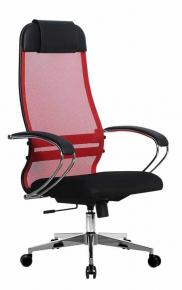 Кресло Метта SU-1-BK Комплект 18 Сh2 22 Красный