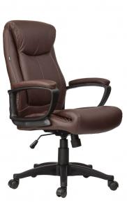 Кресло офисное BRABIX Enter EX-511 экокожа коричневое