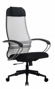 Кресло Метта SU-1-BK Комплект 18 PL2 24 Светло-серый