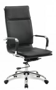 Кресло офисное BRABIX Cube EX-523 экокожа хром черное