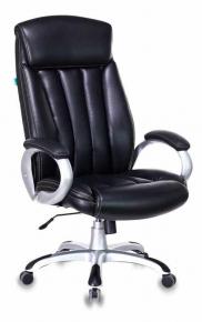 Кресло Бюрократ T-9922 BLACK-PU черный