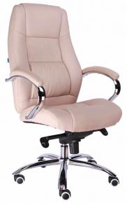 Кресло Everprof Kron (Кожа) M Бежевый