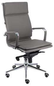 Кресло Everprof Nerey M Серый (кожа)