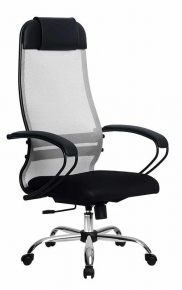 Кресло Метта SU-1-BP Комплект 11 Сh 24 Светло-серый