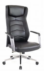 Кресло Everprof Parlament Кожа Черный