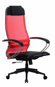 Кресло Метта SU-1-BK Комплект 4 PL2 Красный