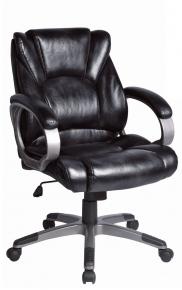Кресло офисное BRABIX Eldorado EX-504 экокожа черное