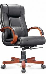 Кресло Norden Консул Натуральная кожа Черный