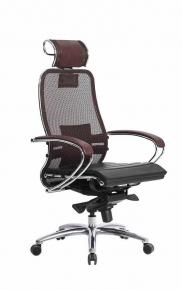Кресло SAMURAI S-2.03 Темно-бордовый с чехлом CSm-25