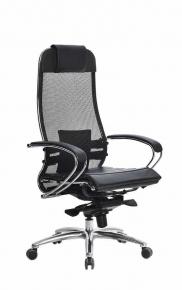 Кресло SAMURAI S-1.03 Черный с Чехлом CSm-25