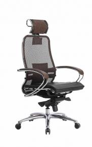 Кресло SAMURAI S-2.03 Темно-коричневый с чехлом CSm-25