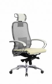 Кресло SAMURAI S-2.03 Белый Лебедь с чехлом CSm-25